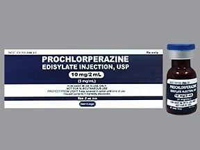PROCHLORPERAZINE 10 MG/2 ML VL