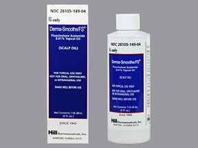 DERMA-SMOOTHE-FS SCALP OIL