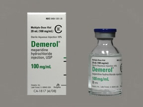 DEMEROL 100 MG/ML VIAL