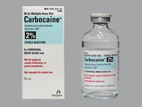 CARBOCAINE 2% VIAL