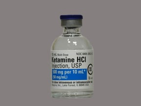 KETAMINE 500 MG/10 ML VIAL