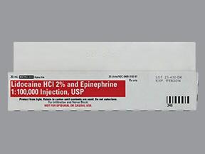LIDOCAINE 2%-EPI 1:100,000