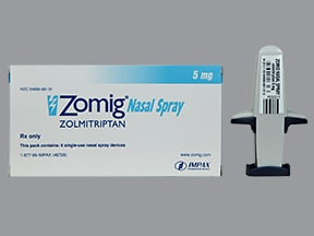 ZOMIG 5 MG NASAL SPRAY