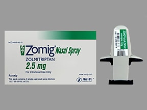 ZOMIG 2.5 MG NASAL SPRAY