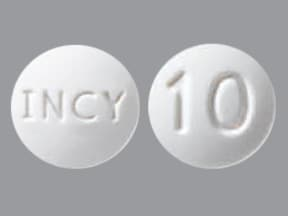 JAKAFI 10 MG TABLET