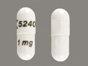 ANAGRELIDE HCL 1 MG CAPSULE