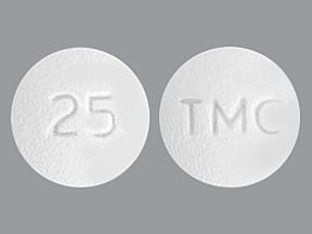 EDURANT 25 MG TABLET