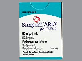 SIMPONI ARIA 50 MG/4 ML VIAL