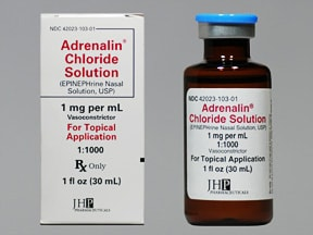 ADRENALIN 1 MG/ML NASAL SOLN