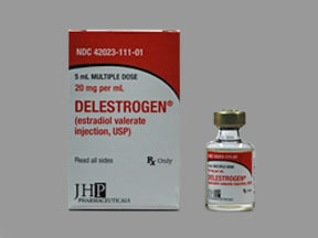 DELESTROGEN 20 MG/ML VIAL
