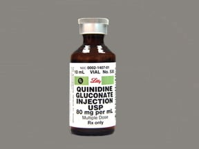QUINIDINE GLUC 80 MG/ML VIAL