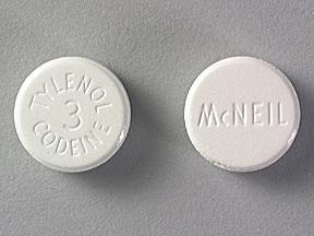 TYLENOL WITH CODEINE #3 TABLET