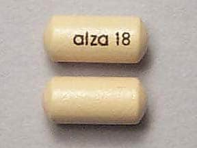 CONCERTA ER 18 MG TABLET