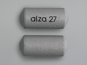 CONCERTA ER 27 MG TABLET