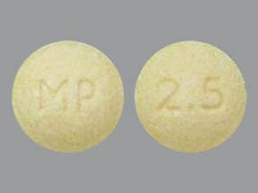 VECAMYL 2.5 MG TABLET