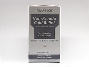 NON-PSEUDO COLD RELIEF TABLET