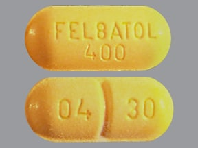 FELBATOL 400 MG TABLET