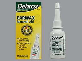 DEBROX 6.5% EAR DROPS