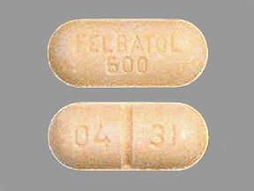 FELBATOL 600 MG TABLET