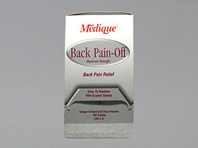 BACK PAIN-OFF TABLET