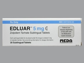 EDLUAR 5 MG SL TABLET