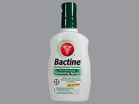 BACTINE PAIN RELIEVING SPRAY