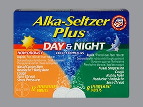 ALKA-SELTZER DAY-NIGHT TAB EFF
