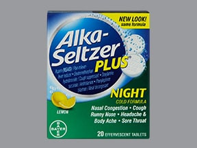 ALKA-SELTZER PLUS NIGHT TB EFF