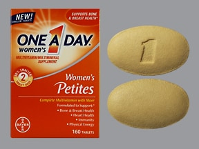 ONE-A-DAY WOMEN'S PETITES TAB