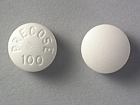 PRECOSE 100 MG TABLET