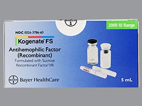 KOGENATE FS 2,000 UNIT-ADAPTER
