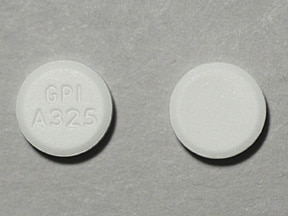 MAPAP 325 MG TABLET