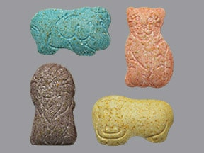 ANIMAL SHAPES TABLET CHEW