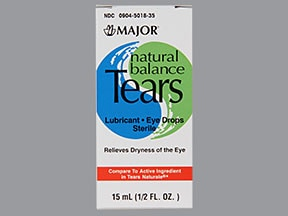 NATURAL BALANCE TEARS DROPS