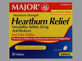 HEARTBURN RELIEF 20 MG TABLET