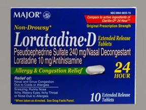 LORATADINE-D 24HR TABLET