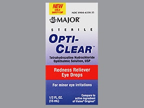 OPTI-CLEAR 0.05% EYE DROPS
