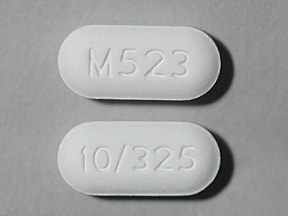 Image for oxycodone-acetaminophen oral 10-325 mg