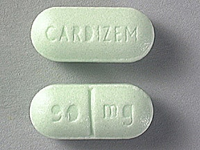 CARDIZEM 90 MG TABLET