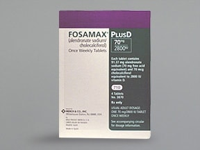 FOSAMAX PLUS D 70 MG-2,800 IU