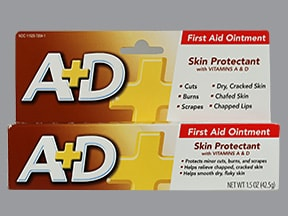 A + D FIRST AID OINTMENT