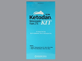 KETODAN 2% FOAM KIT