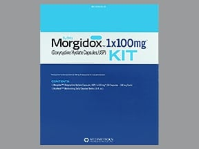 MORGIDOX 1X100 MG KIT