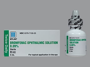 BROMFENAC SODIUM 0.09% EYE DRP