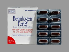 HEMATOGEN FORTE SOFTGEL