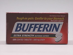 BUFFERIN 500 MG TABLET