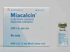 MIACALCIN 200 UNIT/ML VIAL