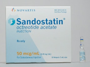 SANDOSTATIN 0.05 MG/ML AMPUL