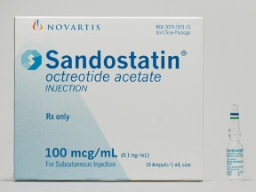 SANDOSTATIN 0.1 MG/ML AMPUL