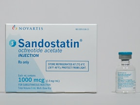 SANDOSTATIN 1 MG/ML VIAL